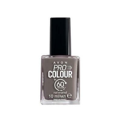 Avon Pro Colour Smalto per unghie in 60 secondi Grigio