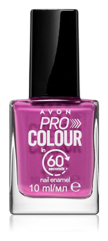 Avon Pro Colour Smalto per unghie in 60 secondi Viola