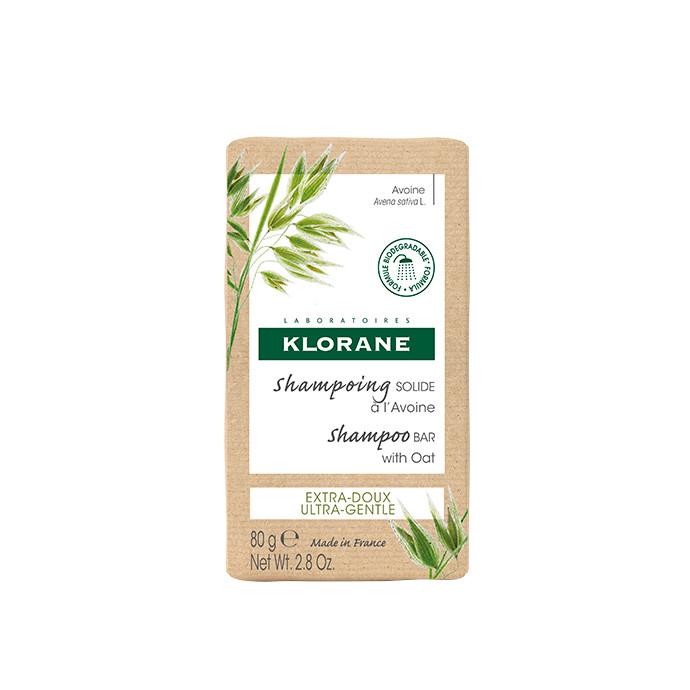 Klorane Shampoo solido al latte d'avena