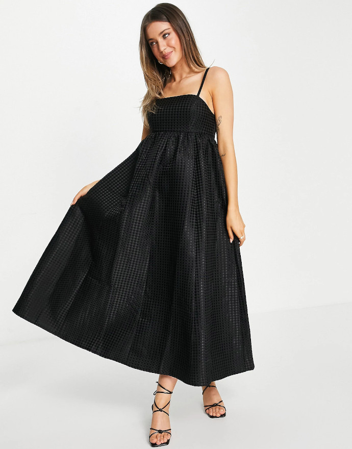 Vestito stile babydoll ASOS DESIGN