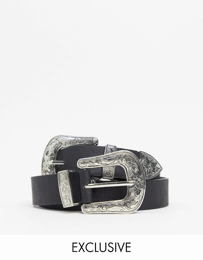 Cintura con fibbia doppia My Accessories London