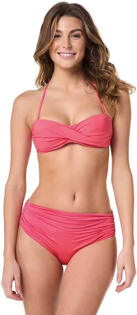 Bikini a vita alta Goldenpoint
