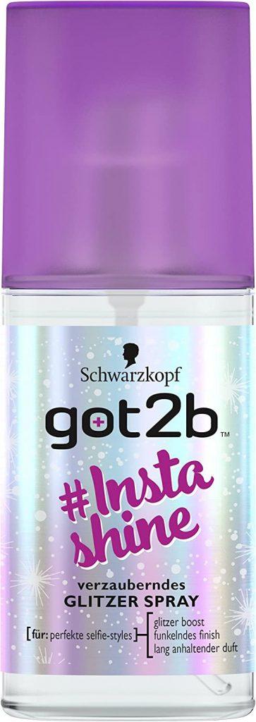 Glitter spray Got2B #instashine Schwarzkpof